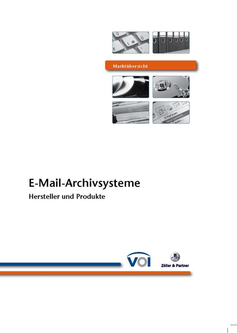 Marktübersicht E-Mail-Archivierungslösungen